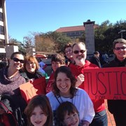 University UMC, Baton Rouge joins in interfaith worship and 'march for peace' on MLK Day