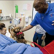 Teddy bear ministry shares smiles and hope with hospitalized children