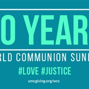 World Communion Sunday, Oct. 1